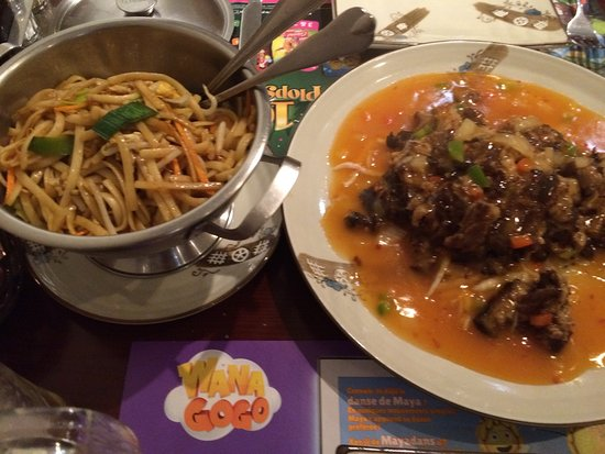 Houffalize, Belgien: Het eten!