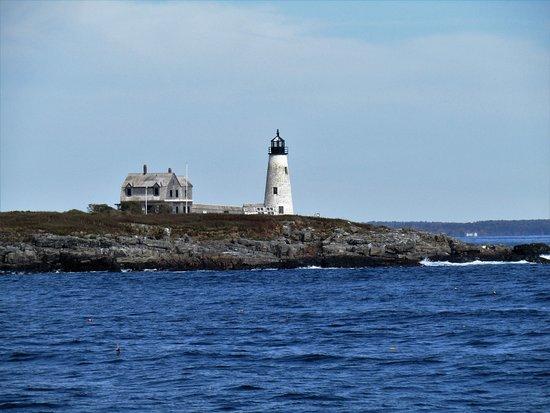 Cape Porpoise, Maine   Kennebunkport's Quiet Coastal ...  Goat Island Lighthouse