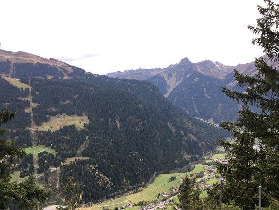 Bludenz, النمسا: Blick aufs Monatfon Tal