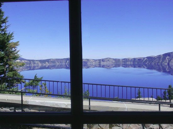 Crater Lake Lodge Dining Room: The view from lunch