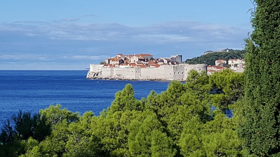 Villa Dubrovnik: Вид с балкона