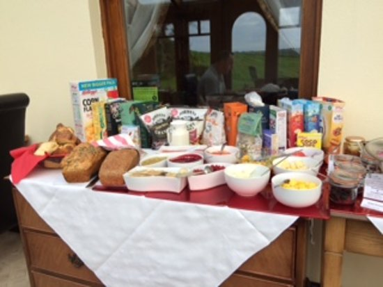 St. Lawrence Country Guest House: Breakfast choice 1
