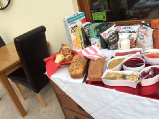 St. Lawrence Country Guest House: Breakfast choice 3
