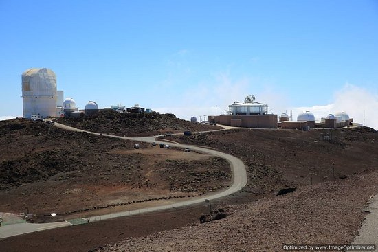 Kula, Hawaï: observatory and tracking stations
