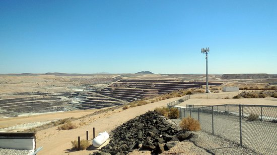 Boron, Καλιφόρνια: Borax Open Pit Mine
