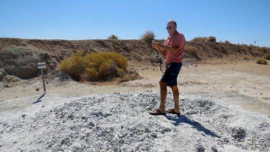 Boron, Καλιφόρνια: Kernite Rock Pile