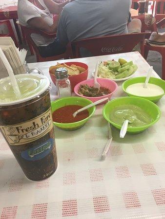 Los Algodones, Mexiko: Such great food!