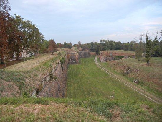 Neuf-Brisach, France: Vu du haut