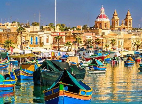 Marsaxlokk, Malta: The Fishing Village