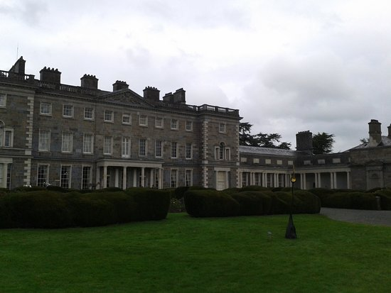 Maynooth, Ιρλανδία: Sicht auf Carton House vom Golfplatz