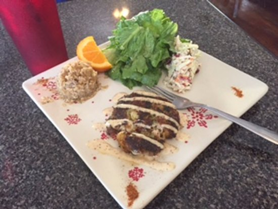 I finally ate at Chef Larry's cafe' All's I can say is WOW!!! OMG! The food is as amazing as it