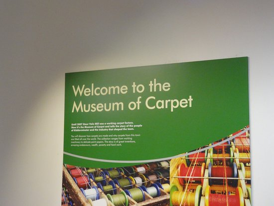 Kidderminster, UK: Museum of carpet entrance