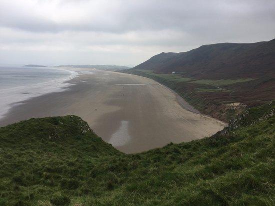 Llangennith Beach in Rhossili Bay