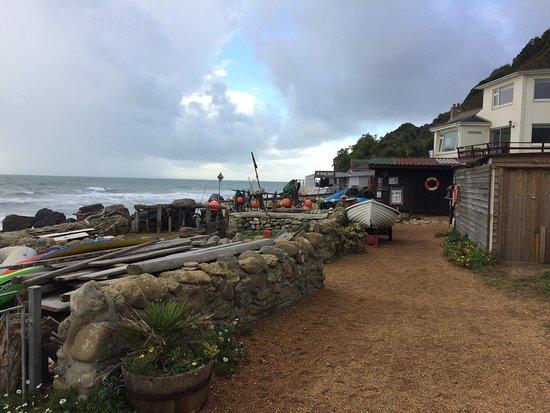 Ventnor, UK: Steephill Cove Beach