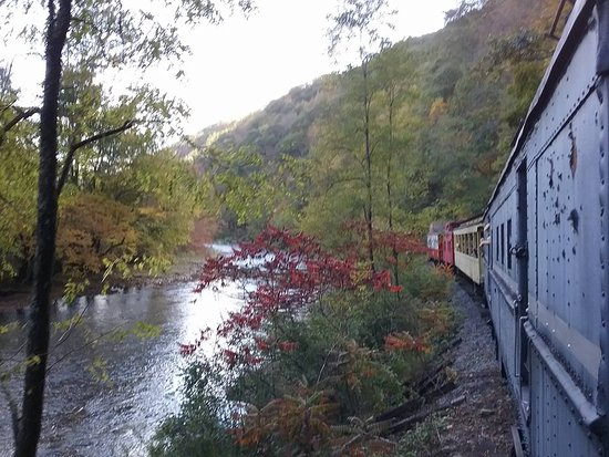 Durbin, Virginia Occidental: alongside the Greenbrier River