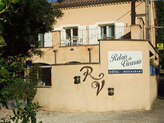Hotel Le Relais du Vivarais : Entrée