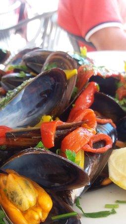 Son Servera, España: Auch das Auge isst mit