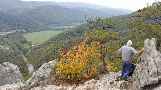 Seneca Rocks, Virginia Occidental: what a view !