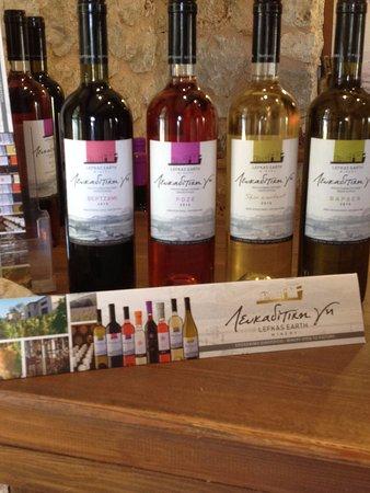 Enodia Hotel: local wines