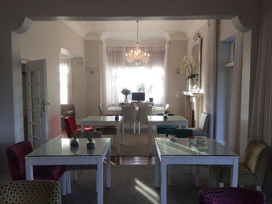 Fresnaye, แอฟริกาใต้: ontbijt/diner gedeelte