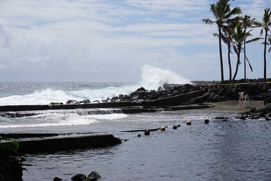 Pahoa, Hawaje: Rugged coastal backdrop!