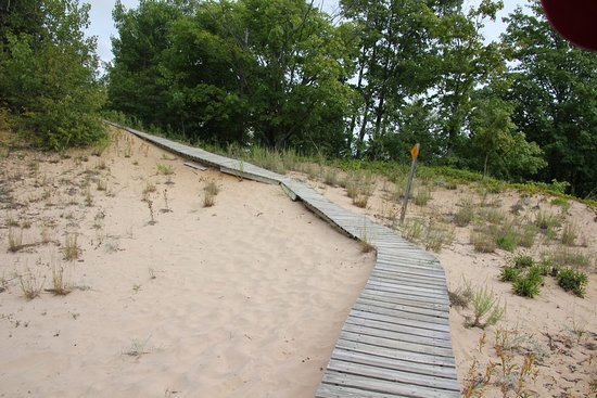 Sturgeon Bay, WI: Sand dunes