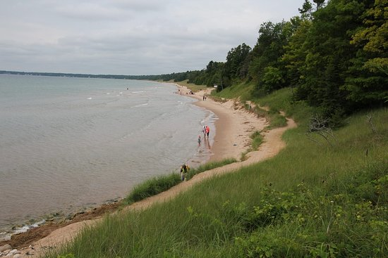 Sturgeon Bay, Ουισκόνσιν: The walk next to Lake Superior