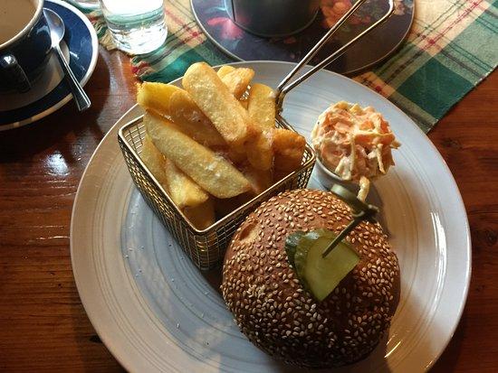 Callander, UK: Burger