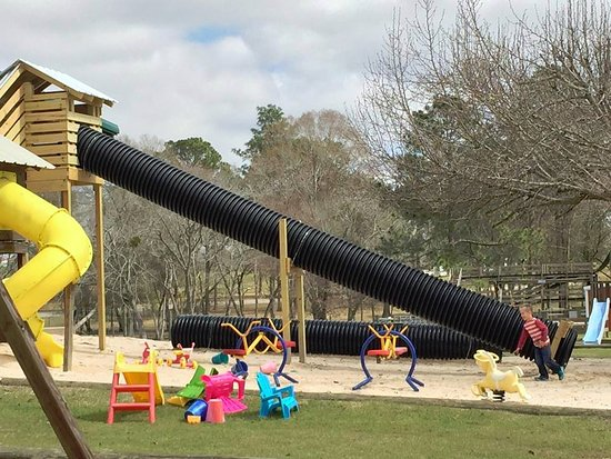 Ashburn, GA: Huge playground is always a hit!