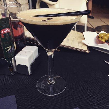 Villamartin, İspanya: Espresso martini