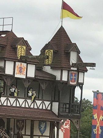 Manheim, PA: Castle for jousting.