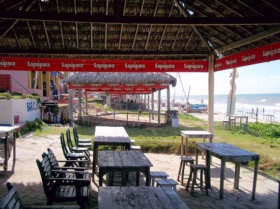 Majorlandia, CE: so sieht ein internationaler Touristen Platz aus - nur Einheimische am Strand 