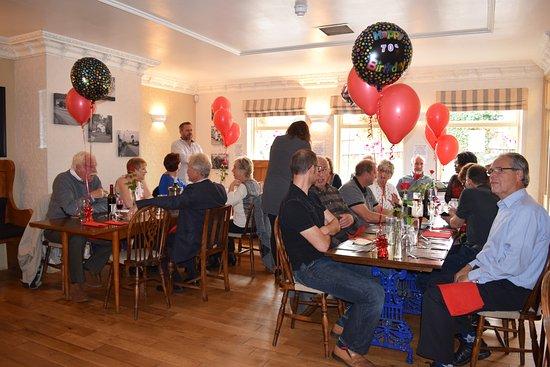 The Brook Inn: 70th birthday meal