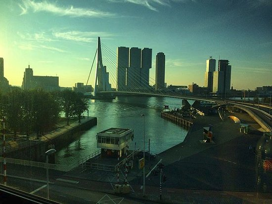 Inntel Hotels Rotterdam Centre: Uitzicht