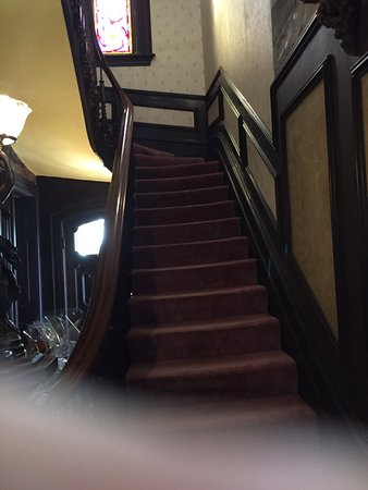 Whitehall, NY: Staircase to the 2nd Floor