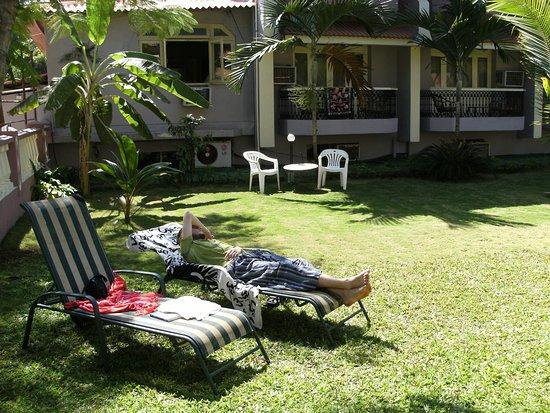 Hotel Goan Heritage: hotelowy ogród