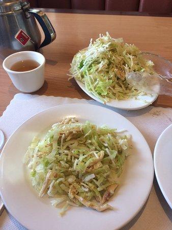 Fortuna, Kalifornien: 1/2 Chinese chicken salad