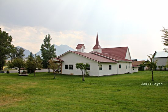 Livery Stable: Nearby Church