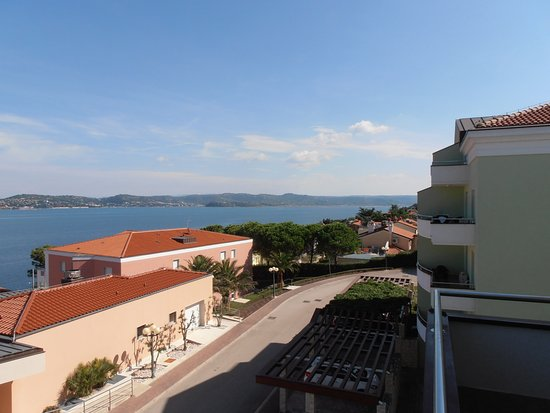 Rezidecija Skiper: Traumhafter Blick vom Balkon