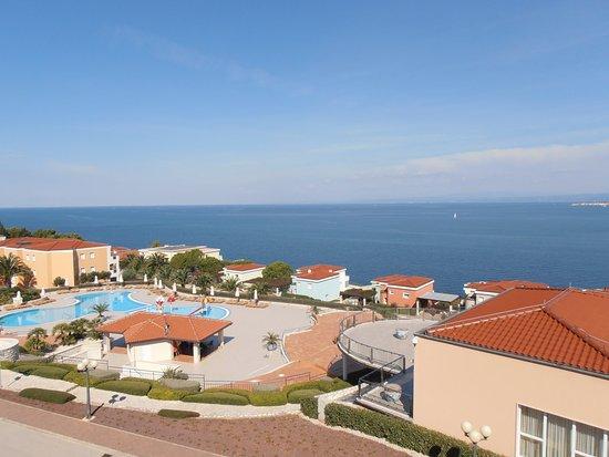 Rezidecija Skiper: Direkt nach dem wach werden morgens zum Balkon & genießen :-)