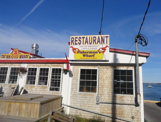 This used to be the sardine factory in Lubec- great food with fresh seafood right at the wharf.
