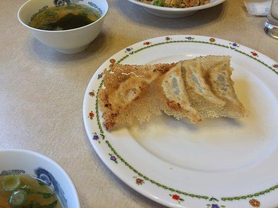Izumi, Japan: 食べかけ餃子
