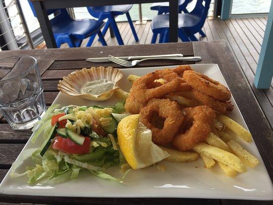Sussex Inlet, Avustralya: Calamari