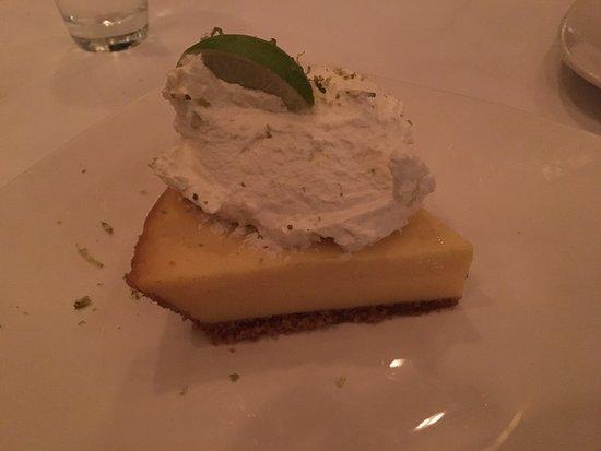 Morton's The Steakhouse: Key Lime Pie