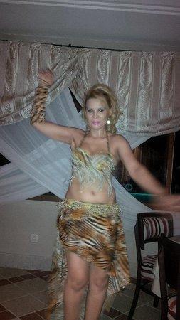 Hotel Dar El Bhar: Spectacle de danse du ventre