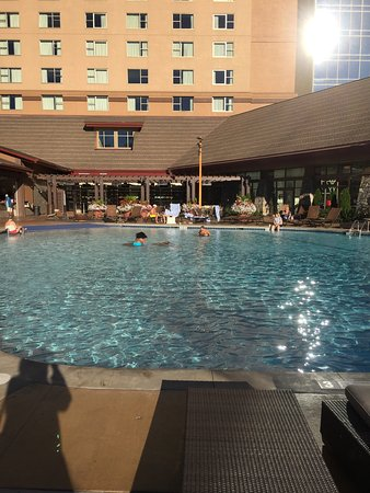 Harrah S Cherokee Hotel Outside Swimming Pool