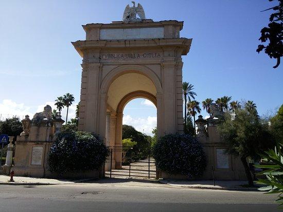 Villa Giulia Palermo Piante