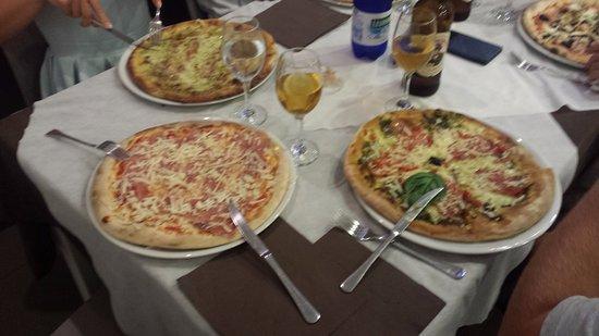 Scordia, Италия: tasty pizzas