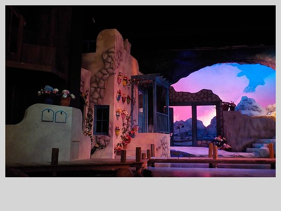 Cumberland County Playhouse: Mamma Mia! stage left