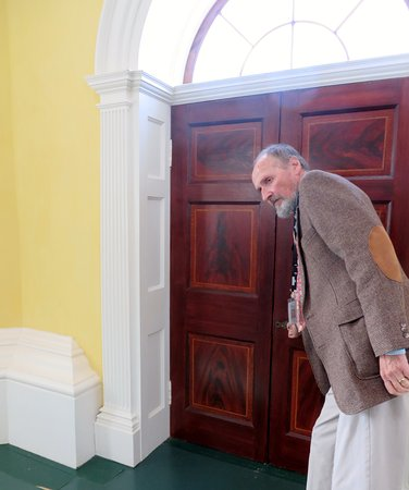 Charlottesville, VA: Behind the scenes tour guide, Dr David opens the doors to history